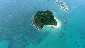 PRIVATE ISLAND MOMENT
